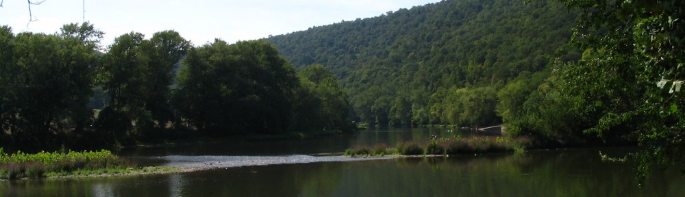 Juniata River, Huntingdon County Pennsylvania